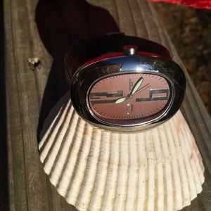 Activa Swiss Water Resistant Leather Watch